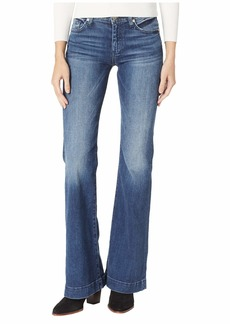 7 For All Mankind Dojo Trousers in Lake Blue