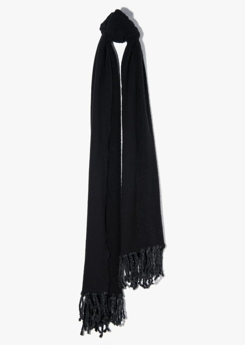 7 For All Mankind Donni Poodle Scarf in Black