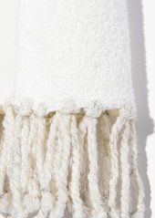 7 For All Mankind Donni Poodle Scarf in Cream