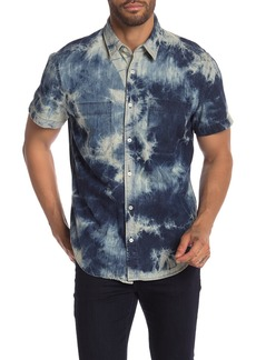 7 For All Mankind Double Patch Pocket Short Sleeve Shirt