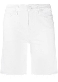 7 For All Mankind Easy raw hem shorts