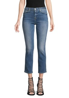 7 For All Mankind Edie Cropped Skinny Jeans