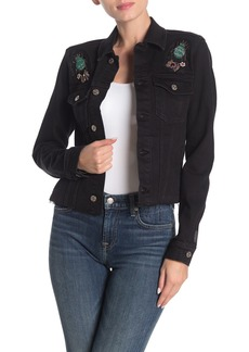7 For All Mankind(R) Embellished Denim Jacket