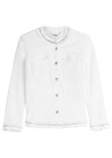 7 For All Mankind Embellished Jean Jacket