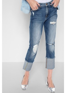 7 For All Mankind Fashion Boyfriend with Wide cuff in Vintage Air Classic