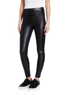 7 For All Mankind Faux Leather Liquid Leggings