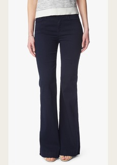 Featherweight Ginger Flare Leg Trouser in Rich Blue
