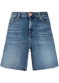 7 For All Mankind five-pocket denim shorts