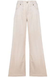 7 For All Mankind flared fit trousers