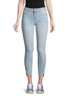 7 For All Mankind Gwenevere Frayed Ankle Skinny Jeans