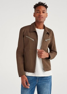 7 For All Mankind Garage Jacket in Stonewashed Army