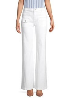 7 For All Mankind Georgia High-Rise Flare Jeans