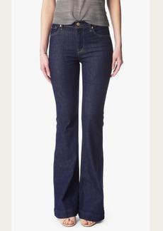 Ginger Flare Leg Trouser in Lovely Blue Rinse