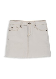 7 For All Mankind Girl's Classic Denim Skirt