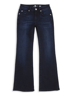 7 For All Mankind Girl's Dojo Flare Jeans