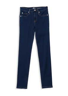 7 For All Mankind Girl's The Skinny Pant Jeans
