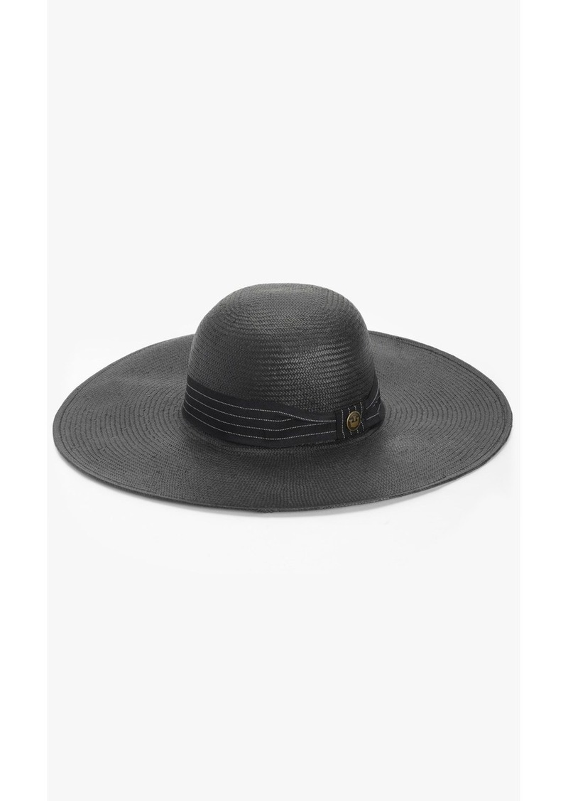 69c19528d27d1 On Sale today! 7 For All Mankind Goorin Bros. Marcy Floppy Hat in Black