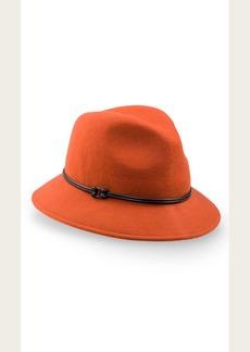7 For All Mankind Goorin Bros Sofia Hat in Orange