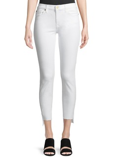 7 For All Mankind Gwenevere Ankle Skinny Jeans with Step Hem