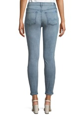7 For All Mankind Gwenevere Distressed Skinny Ankle Jeans