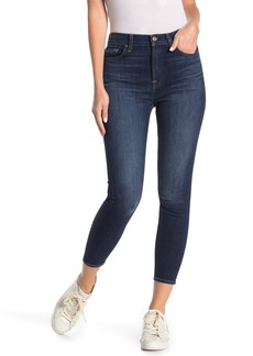 7 For All Mankind Gwenevere High Waist Cropped Ankle Jeans