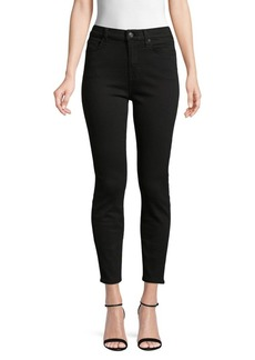 7 For All Mankind Gwenevere High-Waist Cropped Skinny Jeans