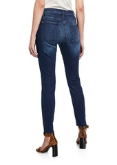 7 For All Mankind Gwenevere High-Waist Cutoff Ankle Jeans