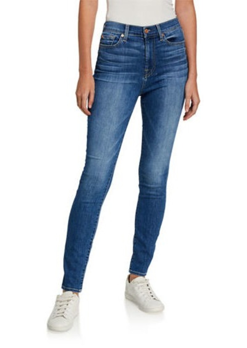 7 For All Mankind Gwenevere High-Waist Jeans