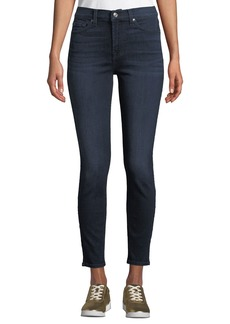7 For All Mankind Gwenevere High-Waist Skinny Jeans (No Squiggle)