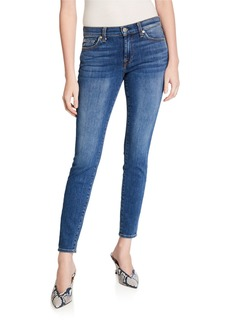 7 For All Mankind Gwenevere Skinny Jeans with Squiggle