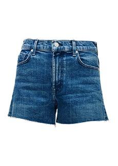 7 For All Mankind High-Rise Cut-Off Denim Shorts