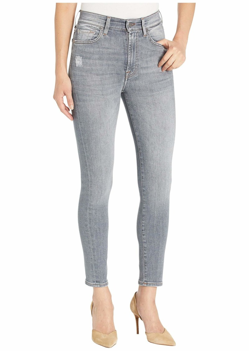 7 For All Mankind High-Waist Ankle Skinny in Drifted