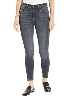 7 For All Mankind High-Waist Ankle Skinny in Honest