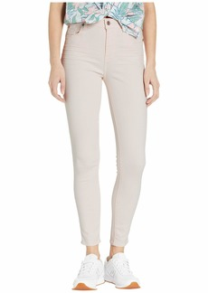 7 For All Mankind High Waist Ankle Skinny in Pink Sunrise