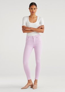 7 For All Mankind High Waist Ankle Skinny in Sweet Lilac