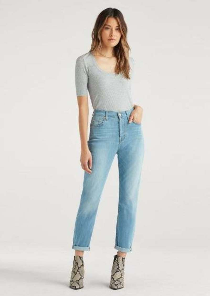 7 For All Mankind High Waist Josefina in Cosmo