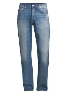 7 For All Mankind Jetsetter Tapered Straight-Fit Jeans