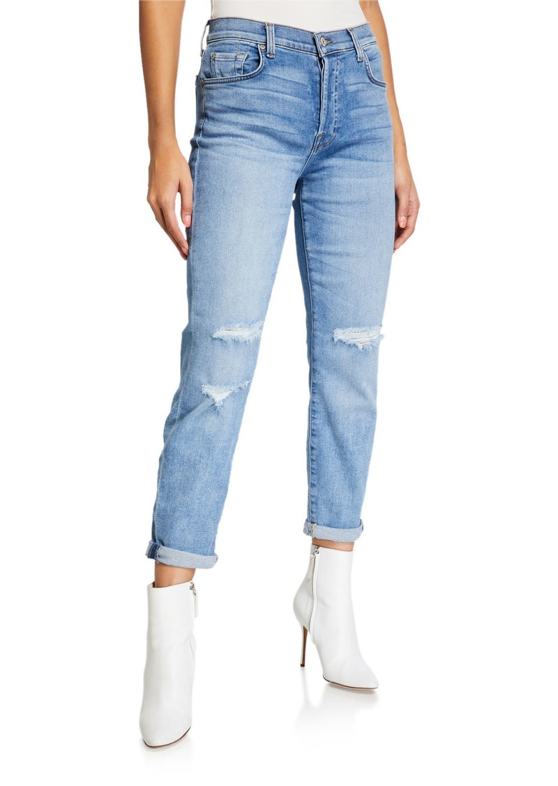 7 For All Mankind Josefina Destroy Jeans