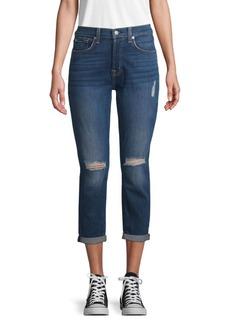 7 For All Mankind Josefina Monroe High-Waist Jeans