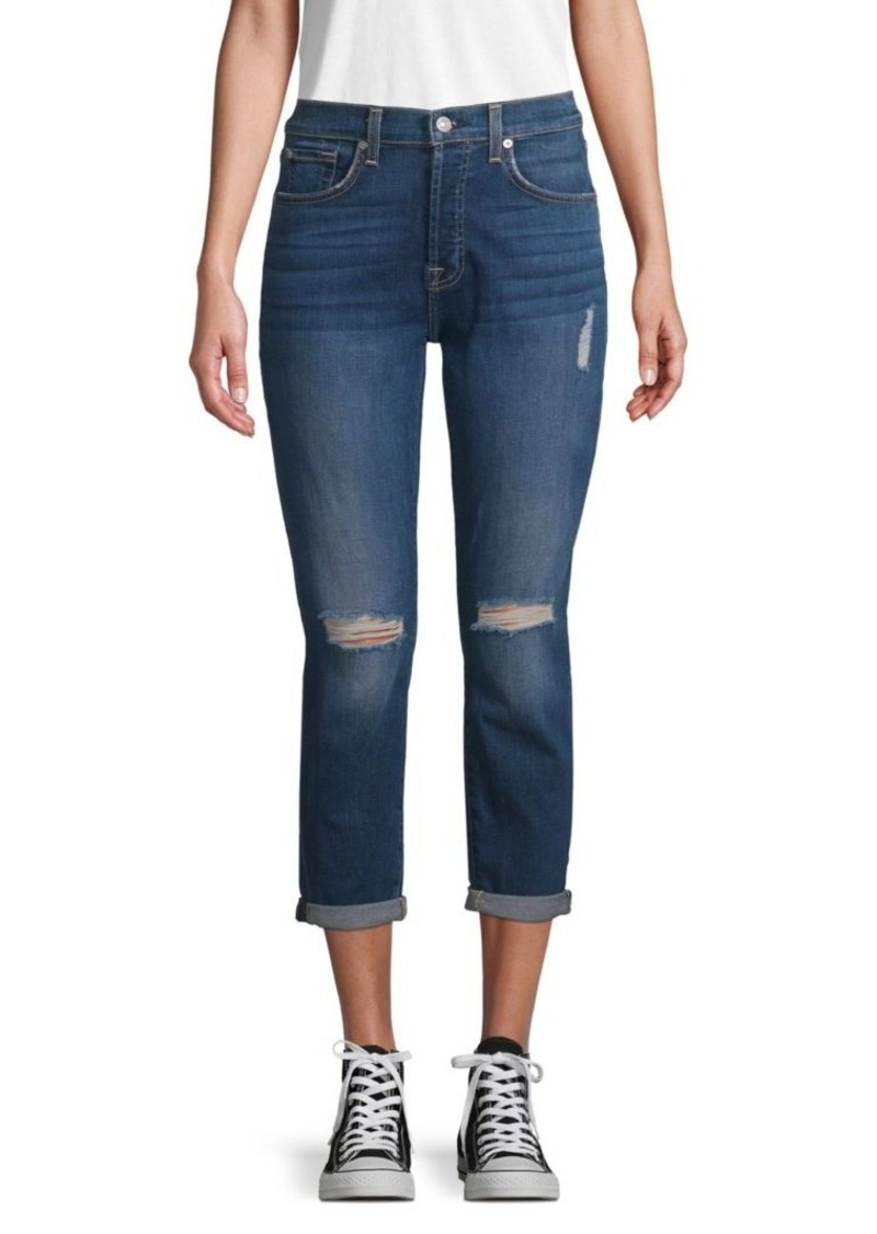 7 For All Mankind Josefina Monroe High-Waist Jeans