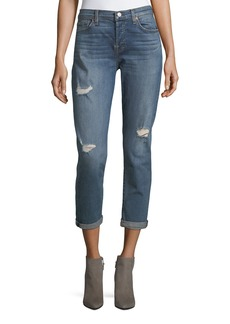 7 For All Mankind Josephina Destroy Skinny Jeans