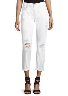 7 For All Mankind Josephina Skinny Jeans W/ Destroy