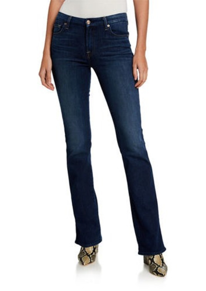 7 For All Mankind Kimmie Boot-Cut Squiggle Jeans