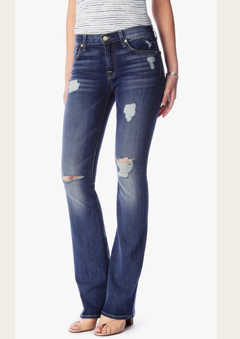 7 For All Mankind Kimmie Bootcut in Crete Island