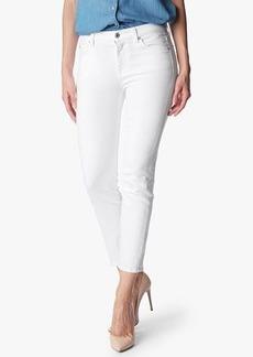 Kimmie Crop in Clean White