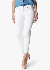 7 For All Mankind Kimmie Crop in Clean White