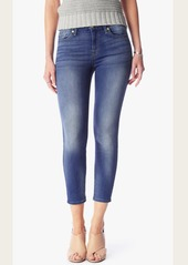 7 For All Mankind Kimmie Crop in Supreme Vibrant Blue