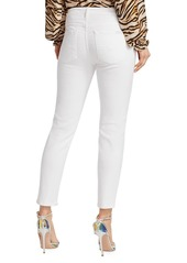 7 For All Mankind Kimmie Mid-Rise Cropped Jeans