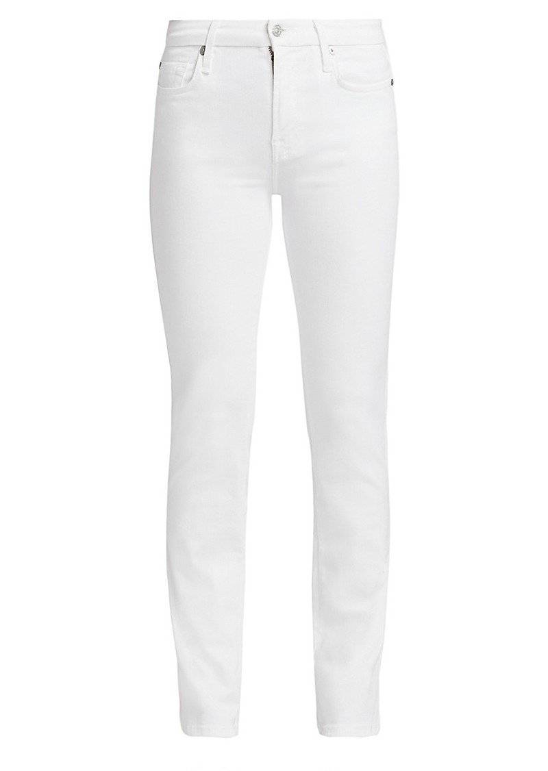 7 For All Mankind Kimmie Mid-Rise Straight Jeans