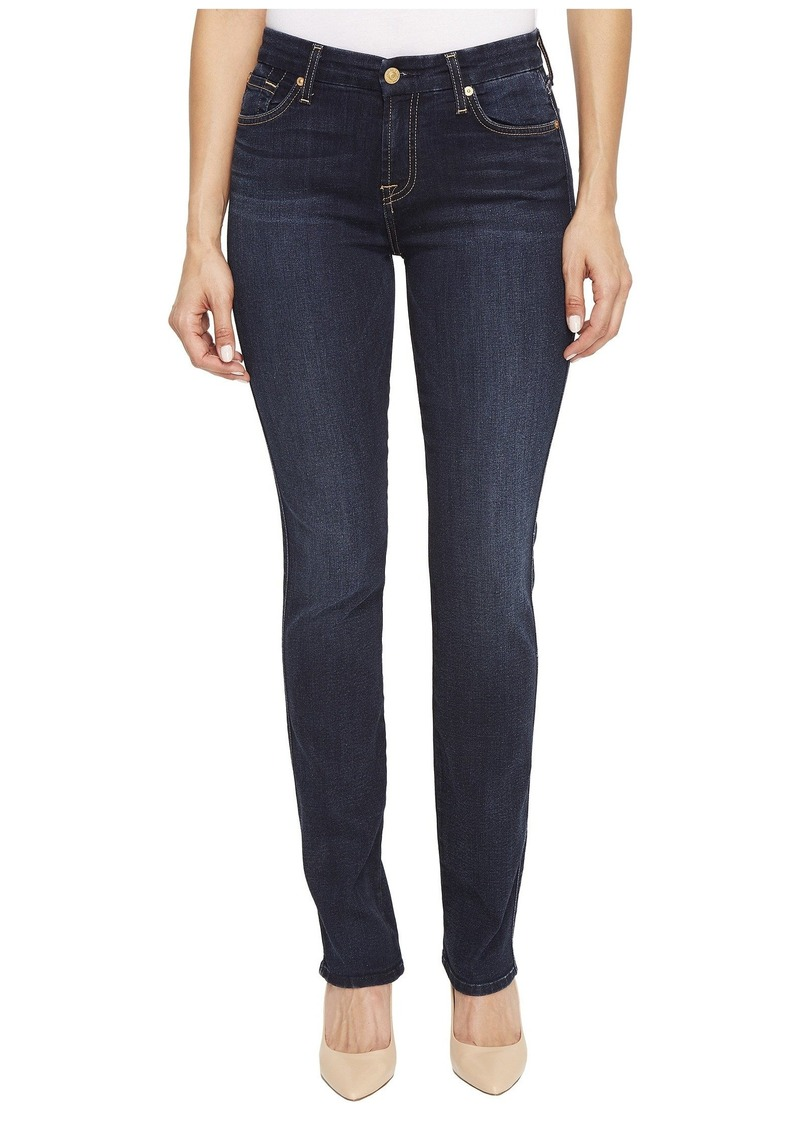 7 For All Mankind Kimmie Straight in Dark Moonlight Bay
